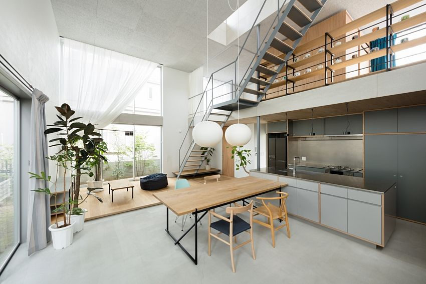 Natural and fresh Japanese house - Interior Design Ideas