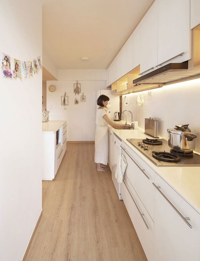 Japanese wooden house with Nordic style - Interior Design Ideas