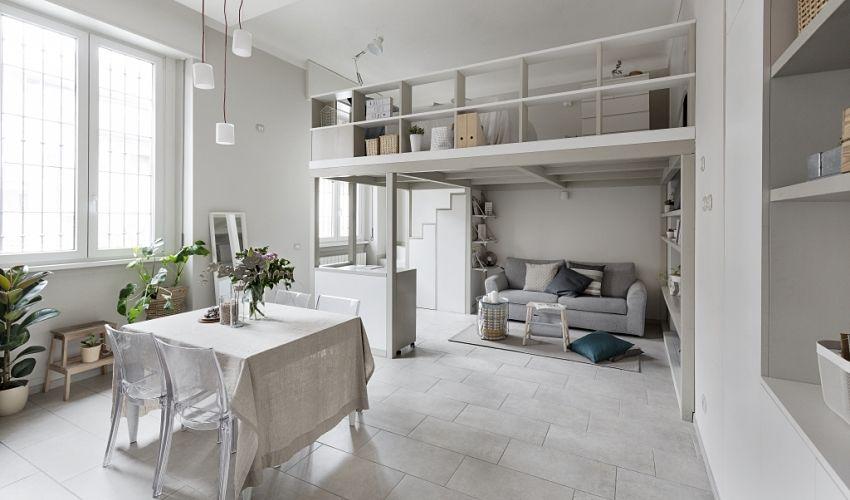 Pure white house in Nordic style - Interior Design Ideas