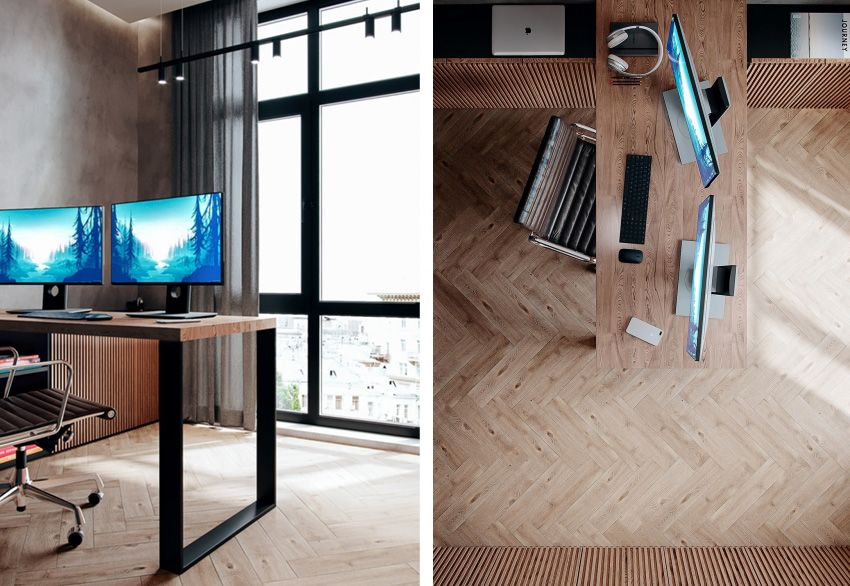 Classic wooden apartment - Interior Design Ideas