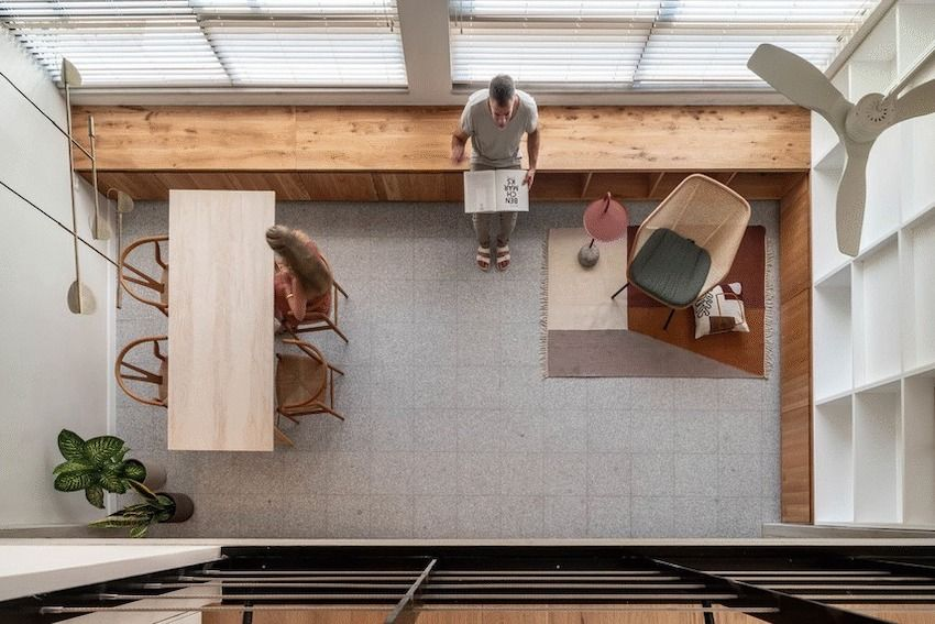 42 square meter wooden house in Israel - Interior Design Ideas