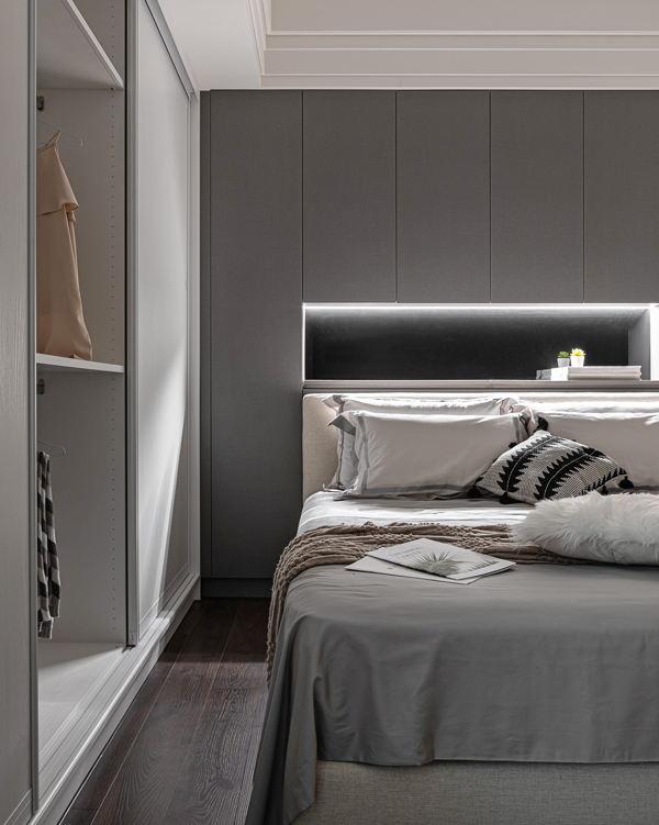 American neoclassical apartment of 100 square meters - Interior Design Ideas