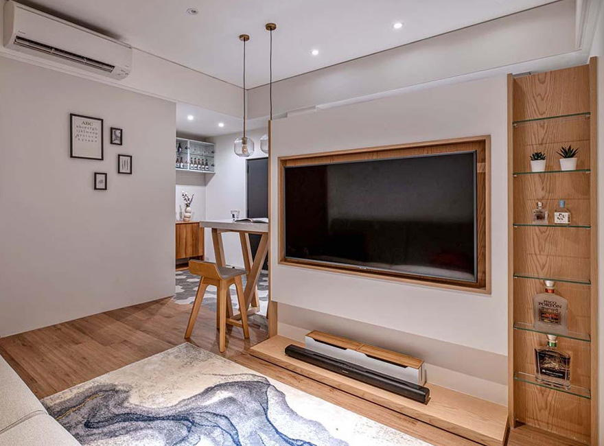 Decorating an old house into a modern home in Taipei - Interior Design Ideas