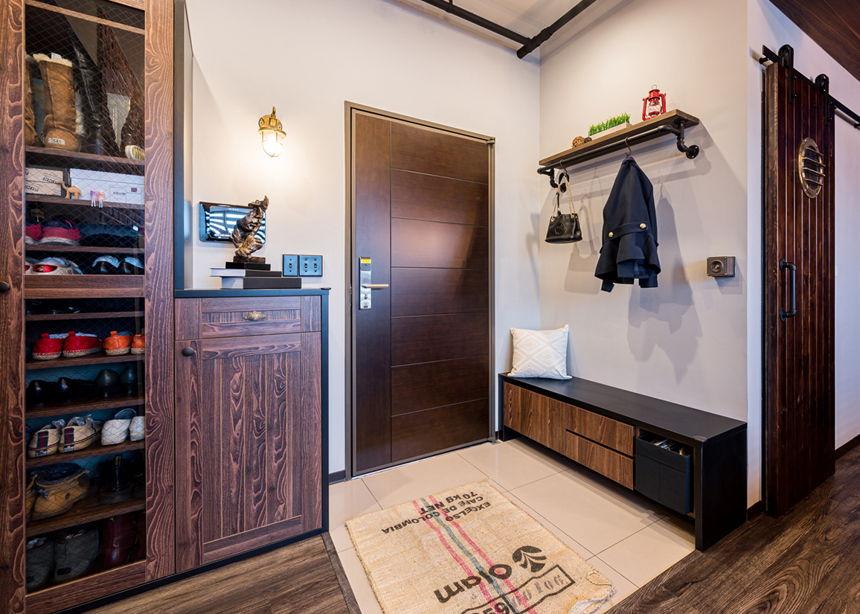 Interior design of the apartment in British style - Interior Design Ideas
