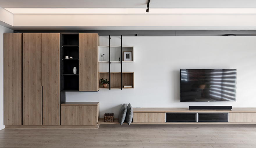 Nordic style apartment design 3 bedrooms - Interior Design Ideas