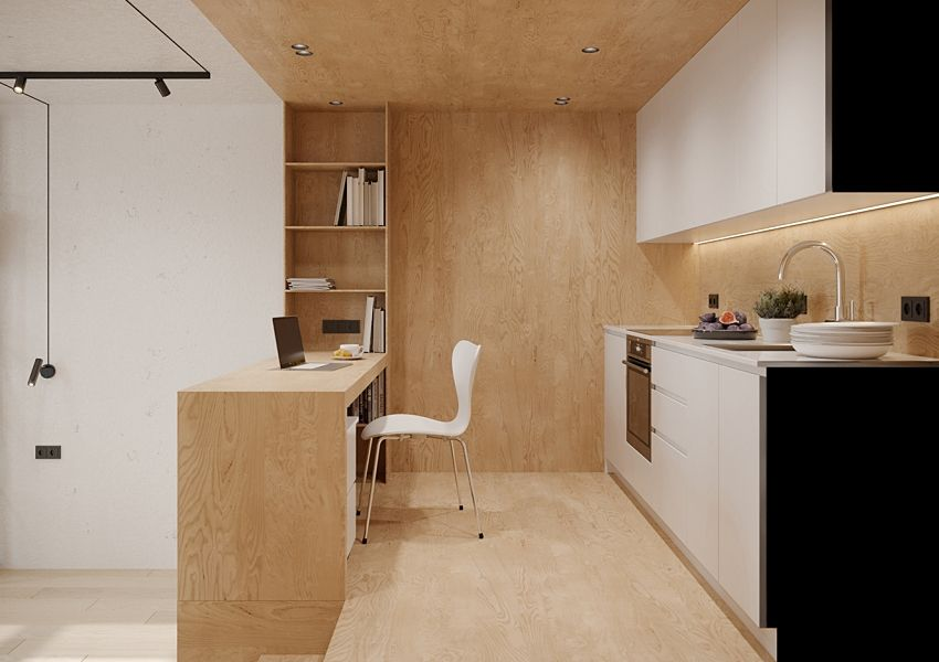 The drawer bed extends the space - Interior Design Ideas