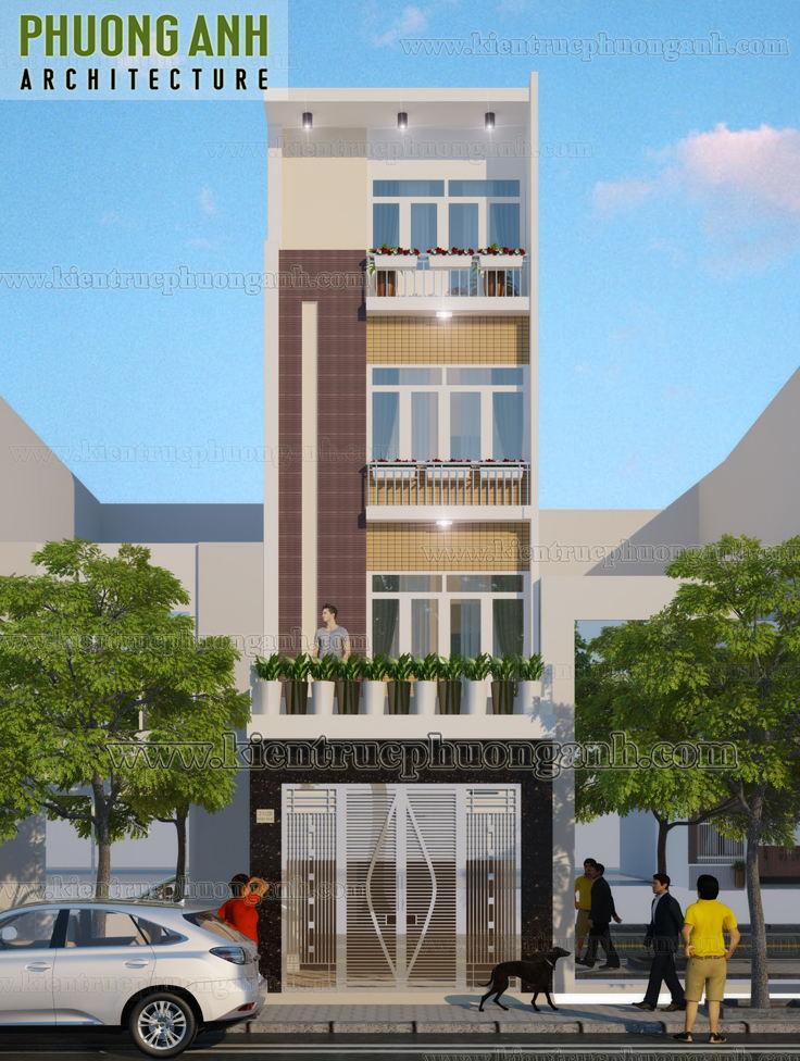Nhà phố 4 tầng  - Ông Dũng - Q.Lê Chân - Tp.Hải Phòng - Xây nhà trọn gói Hải Phòng