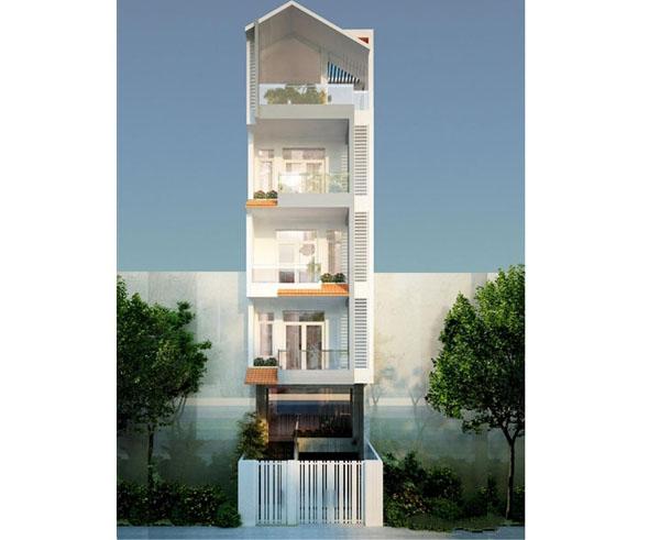Thiết kế nhà đẹp ở Hải Phòng cho gia đình anh Hiếu