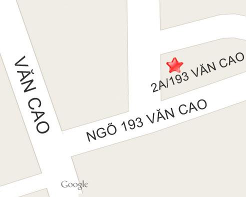 Bản đồ công ty Kiến trúc Phương Anh